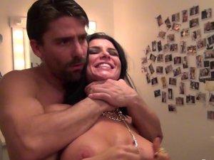 Romi's porn Set behind the scenes
