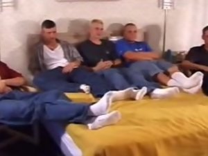 Twink Group Jerking Off