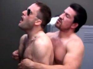 Gay Bears Having Anal In the Locker Room