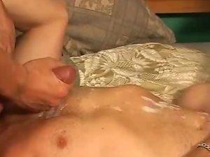Sexy MILF Pegging With Two Bi-Men