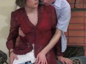 Randolph and Desmond cockloving crossdresser in action