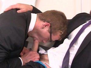 Executive Suite Part 2 - Jarec Wentworth & Jay Austin - TGO - The Gay Office