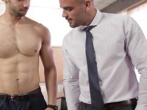 The Business Of Sex Part 4 - TGO - The Gay Office - Damien Crosse & Juan Lopez