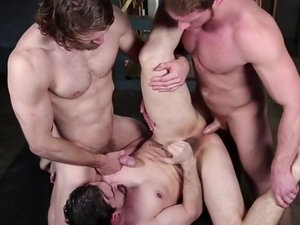 Cum Right In - DMH - Drill My Hole - Colby Keller - Connor Maguire & Phenix Saint