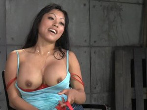 Big Breasted Asian Gaia Destroyed By Dick
