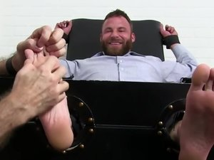 Muscle Bear Derek Parker Tickle Tortured - Derek