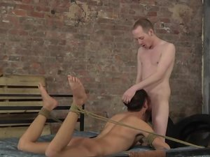 Justin Gets Another Hard Fucking From Dom Sean! - Justin Blaber and Sean Taylor