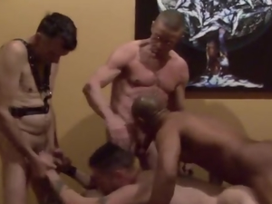 Damon's First CumUnion Party scene 2
