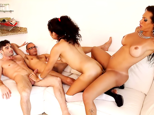 Perla Rios and Jhoany Wilker's Ultimate Gangbang!