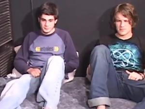 Luke Daniels and Cory Woodall