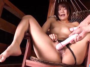 Gorgeous milf, Saya Tachibana, fucked with stiff toys