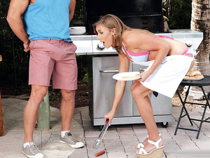 Milf On The Grill