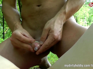 My Dirty Hobby - Lia-Louise outdoor fuck