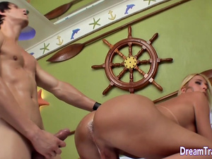 Shemale Creampie Compilation part1