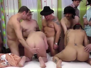 porno punk lady in wild gangbang