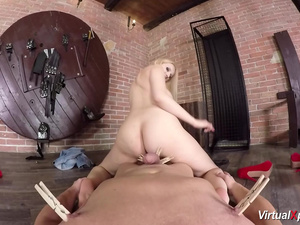 Angel Wicky loves pov fetish sex
