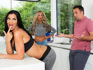 Brazzers – Can I Bother You For A Tall Glass Of Dick?