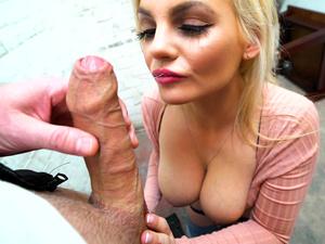 Public Pick Ups - UK Hottie Haggles with Pervert