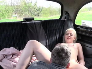 Fake Hub - Shy Blonde Teen with Natural Tits