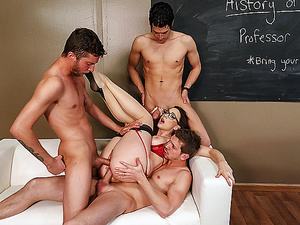 Brazzers - Free-For-All Fuck Lessons