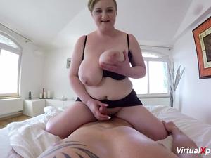 hot POV sex with busty stepmom