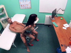 Fake Hub – Toilet room fucking for hot patient
