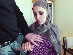 Arab chick pounded with big dick