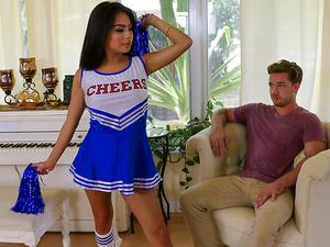 Exxxtra small – Hot Little Cheerleader