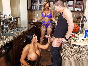 Brazzers – Trading Sides: Part 1