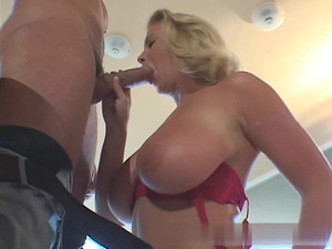 Gorgeous big tits maid sex casting