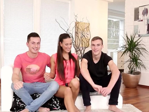 iAmPorn - Amazing Czech FMM bisex three-way