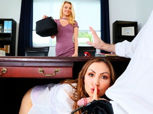 Share My BF – Boss Shares Wife With Hot Secretary