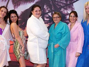 Take a look at an all femal mature sauna