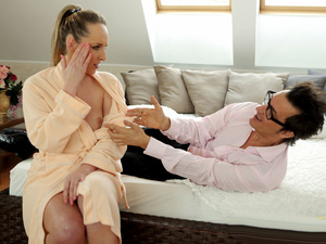 Daddy4k unexpected experience with an older gentleman - 2 part 1