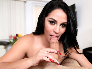 Latina MILF Fucks The Wrong Guy