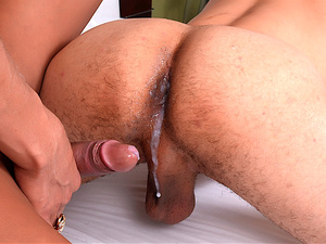 Raven Haired Transsexual Rosy Pinheiro Fucks Her Boyfriend Up the Ass