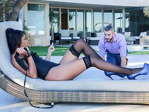 Zoey Reyes is a bad bitch who loves the idea of dominating her man. She exercises these skills on a