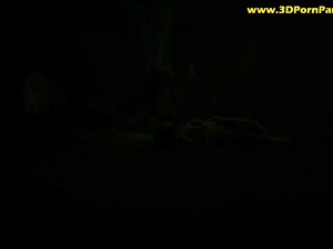 Gollum finds a woman in the forest and fucks her