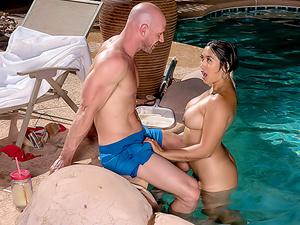 Pounding The Pool Boy