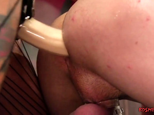 Busty Mistress Strapon Fucks a Bisex Guy
