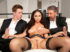 Ariana Marie: First DP Makes Her Gape!, Scene #01