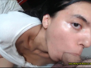 Petite Indian Teen POV Blowjob And Fucks