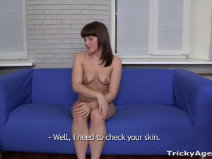 Tricky Agent - Rose - Tricked into casting fuck