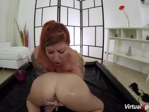 slippery lesbian nuru milf massage