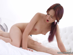 Teeny Lovers - Michelle Can - Teeny earns her cream dessert