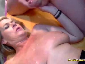 extreme pierced milf rough banged