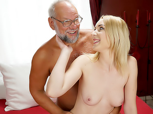 Stripping With Grandpa!