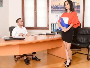 Desk And High Heels