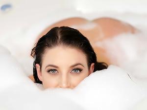 Big Titted Bubble Bath