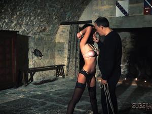 Pain slut getting tortured by master